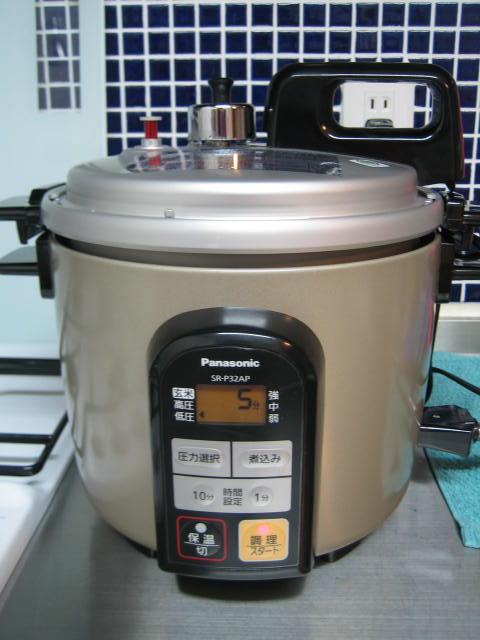 パナソニック 電気圧力鍋 ご飯